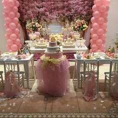 Princess pink and gold - PIA cumple Su primer año