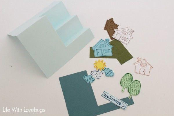 Sizzix Tutorial | Welcome Neighbor Card by Monika Baptista