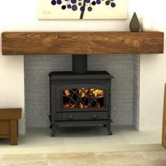 96 best Fireplaces & woodburners images on Pinterest | Wood ...