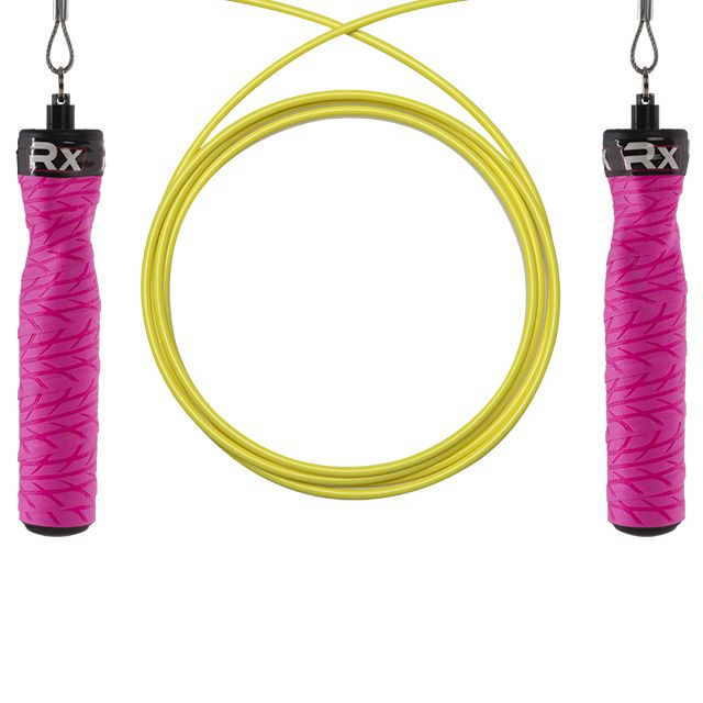 Just ordered my Custom RX Jump Rope - FULL CUSTOMIZATION//color, rope weight and height. Order extra weighted ropes to change out as your technique improves.