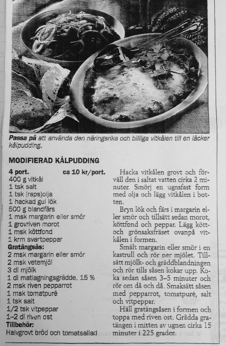 Kålpudding- gratäng som är supergod. Obs! Saltmängden kan minskas i gratängsåsen!