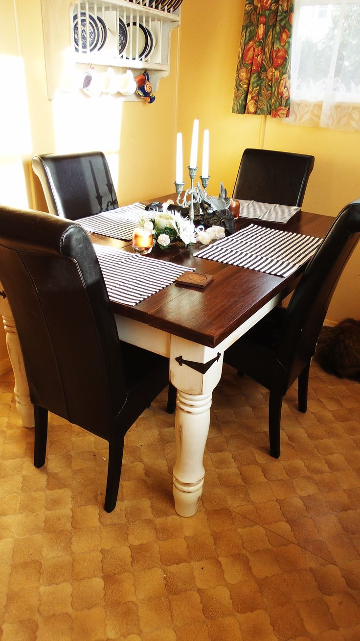 always wanted a table like this so I built it :-) the legs they were bought cheap lo