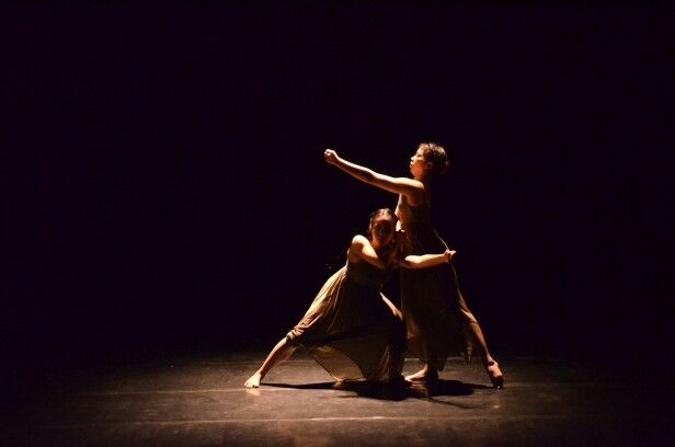 One of Choreography by Fitri Anggraini Indonesian Dancer from Jakarta Institute of Art