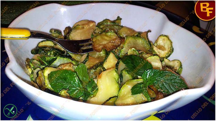 'E Cucuzziell 'a Scapece – Zucchine alla Scapece