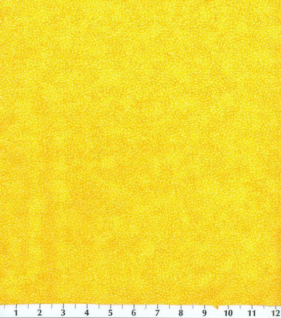 Keepsake Calico Cotton Fabric Texture Vine Yellow