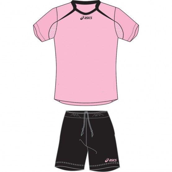 Asics Dribbling szett pink,fekete JR gyerek 152