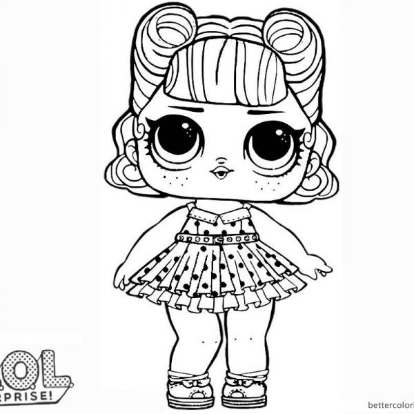 Lol Surprise Doll Coloring Pages Jitterbug Unicorn Coloring Pages Lol Dolls Cute Coloring Pages