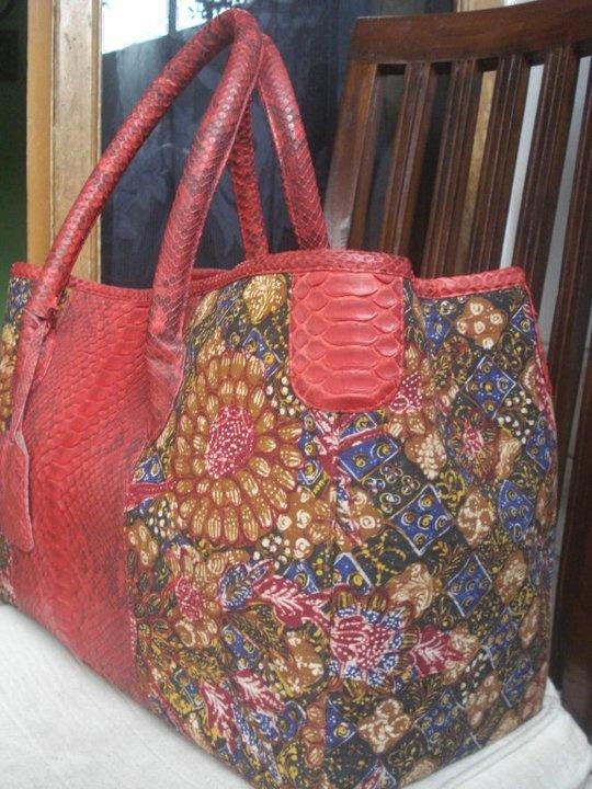 Lovely batik bag