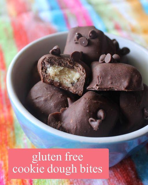 Auntie Bethany - The Best Gluten Free: Mini Gluten Free Cookie Dough Bites