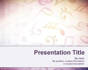 music powerpoint backgrounds