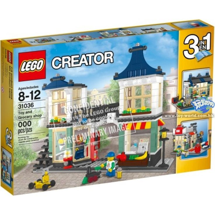 Lego 31036 Toy & Grocery Shop