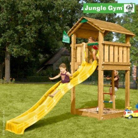 Elle n'est pas belle cette tour de jeux pour enfants ? Venez la  découvrir plus en détails sur le portail spécialisé des jeux de jardin  ! De nombreux autres modèles à découvrir en ligne pour petits et  grands ! Nous proposons uniquement des tours de jeux de qualité.