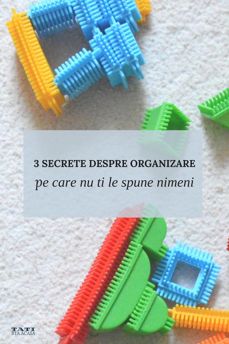 3 secrete despre organizare