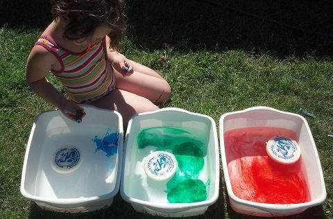 Backyard water park: use your imagination and supplies to create wet and wonderful water challenges your kids will love right in your backyard.