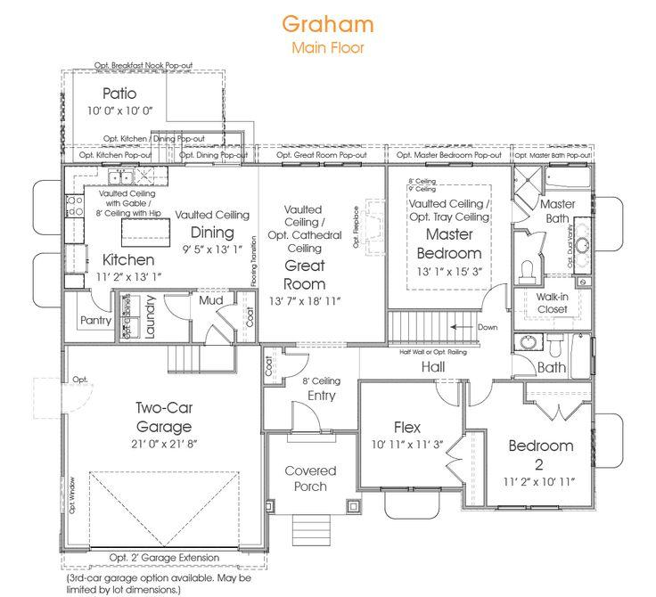 Best 25 rambler house ideas on pinterest rambler house for Rambler house plans utah