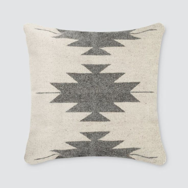 Captivating Aztec Throw Pillows In Cream U0026 Grey   Inspired By Zapotec Patterns U2013 The  Citizenry