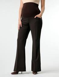 Hamile Kahverengi Pantolon Modelleri