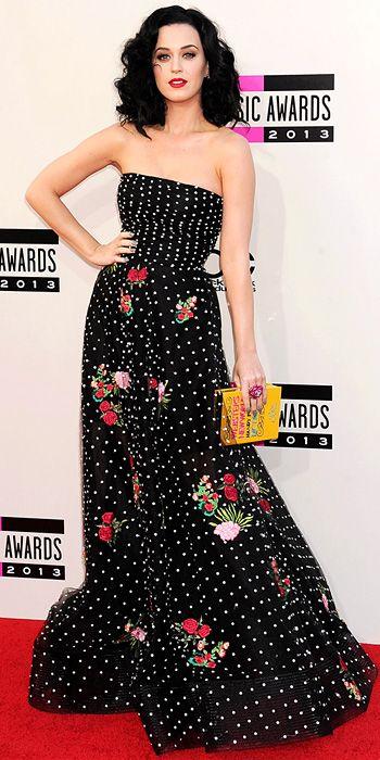 Loving Katy's styling here- Katy Perry in Oscar de la Renta #InStyle