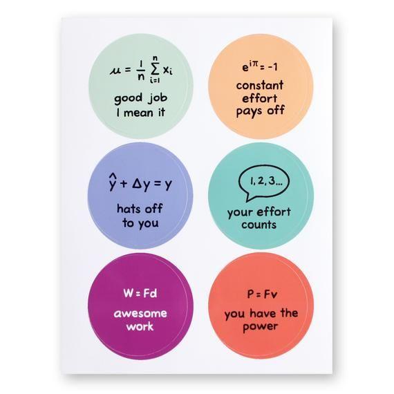 Stem Teacher Stickers Math Science Motivation Physics Etsy In 2021 Teacher Stickers Stem Teacher Stickers Math