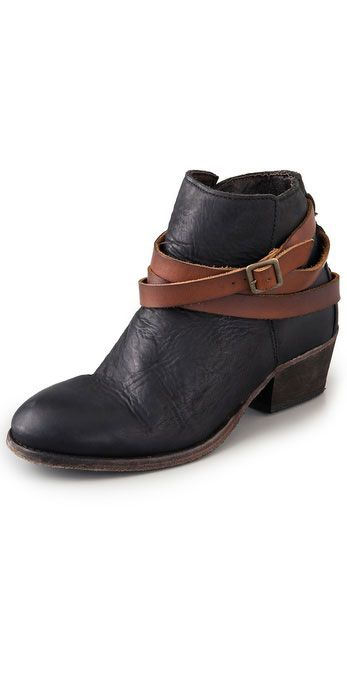 Stylish Camping Gear: H by Hudson Horrigan Wrap Strap Booties