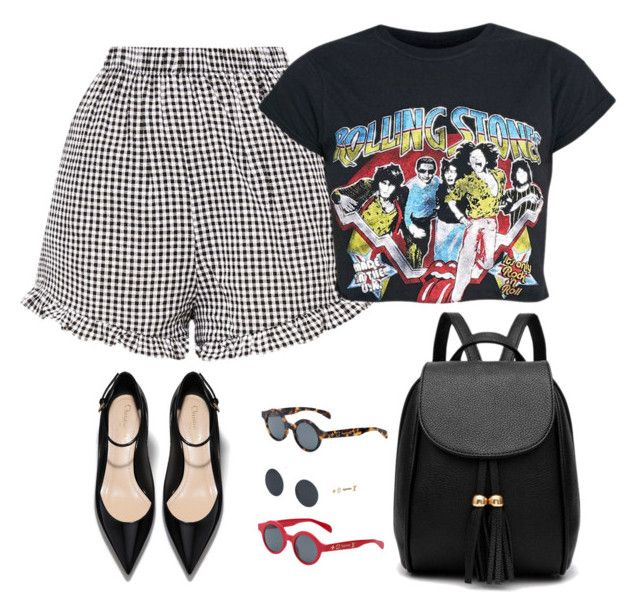 """""""Rock girl"""" by sheere on Polyvore featuring moda i Louis Vuitton"""