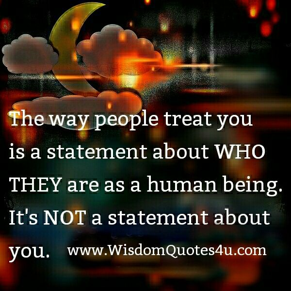 How people treat you is there karma, how you react is yours. ~ Dr. Wayne Dyer.