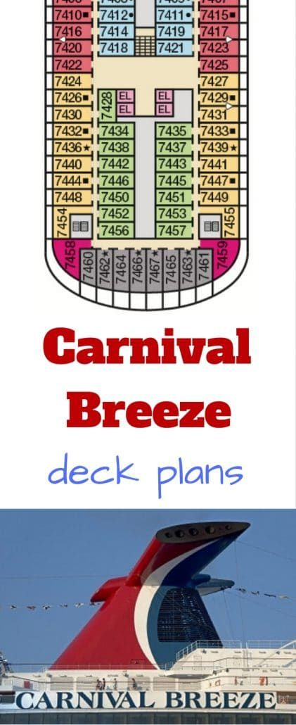 carnival breeze #carnival cruise ship deck plans #deckplan deck plan