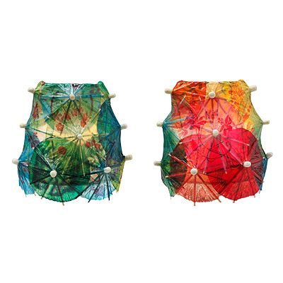 DRINK UMBRELLA NIGHTLIGHTS  $32.00  quirkeee but fun oh, and expensive