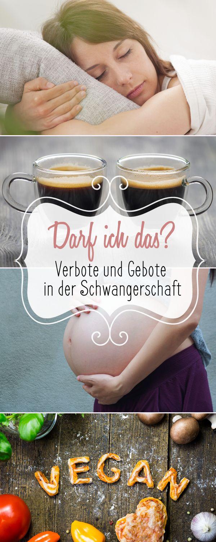 DAS darfst du auf keinen Fall tun wenn du schwanger bist!