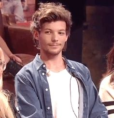 Louis Tomlinson GIF. I don't know why, but he kind of looks like a cat in this gif? Just me?