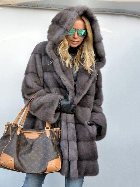 Shop Coats - Royal Mink Furs Coat Vintage Pockets Hoodie Faux Fur Coats  online. Discover unique designers fashion at justfashionnow.com. e3329b0512c