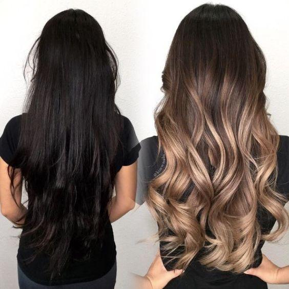 Balayage-Cabello-Oscuro, #balayage #cabello #oscu…