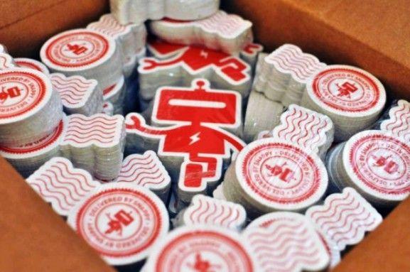 35 Contoh Desain Sticker Sebagai Media Promosi yang Efektif - 21. Snappy Stickers by Bill S Kenney