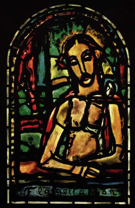Roualt images   Eglise Notre-Dame de Toute Grace (Plateau D'Assy)