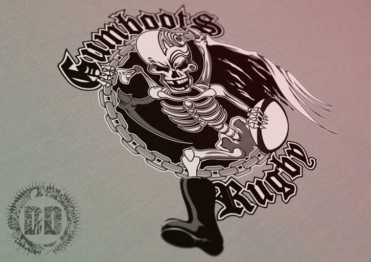 Gumboots Team Branding - Logo Design Newcastle - Dark Design Graphics | Graphic Design Newcastle