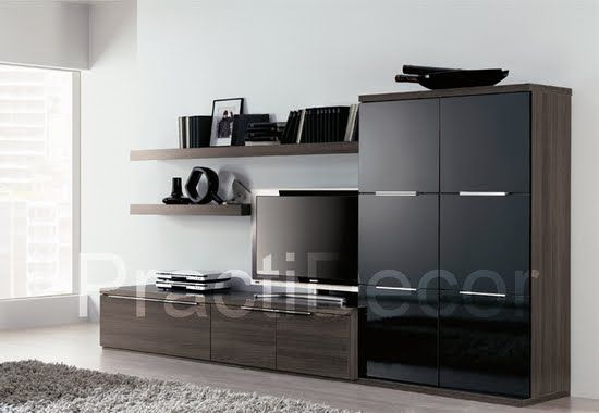 Las siguientes son fotos de amoblamientos de fabricantes europeos. Modelos en los que podemos basarnos para diseñar su mueble a medida. Podrá elegir materiales y colores.