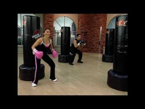 Cathe Friedrich's Bonus Heavy Bag Workout Video - YouTube