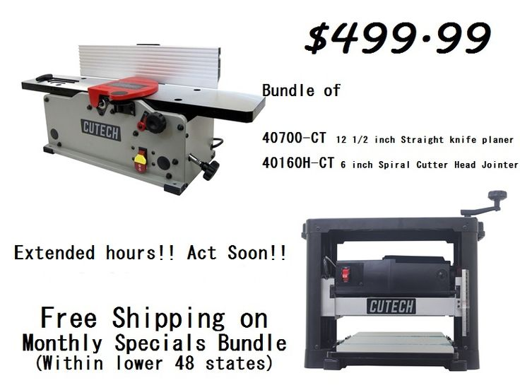 Cutech Tool LLC hoblíky a frézky