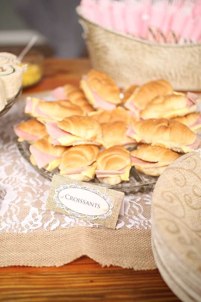Shabby Chic, Vintage Glam Bridal/Wedding Shower Party Ideas | Photo 1 of 32 | Catch My Party