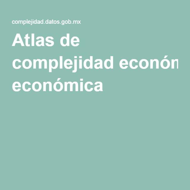 Atlas de complejidad económica