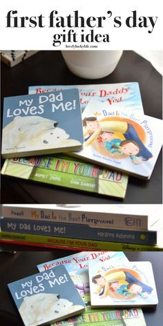 this is the best idea for a father's day gift! daddy books for the new dad // lovelyluckylife.com