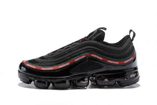 Best Quality Undefeated X Nike Air VaporMax 97 Black Red