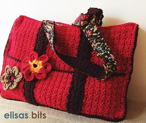 Crochet Bag With Pockets Pattern : 1000+ images about Crochet Bags and Purses on Pinterest