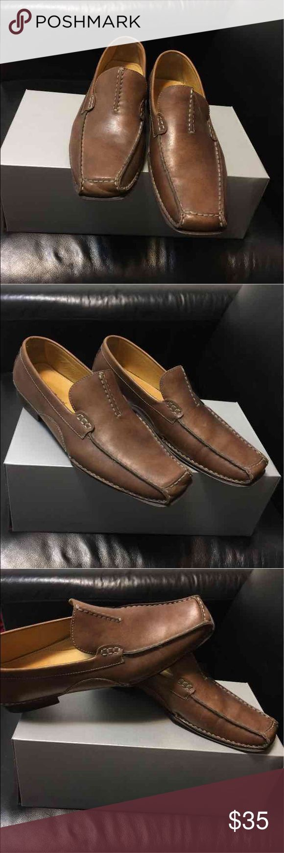 Bacco Bucci Slip On Bacco Bucci Slip On Size 9 in Brown Bacco Bucci Shoes Loafers & Slip-Ons
