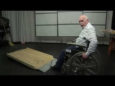 ▶ Build Inexpensive Residential Wood Wheelchair Ramps - YouTube