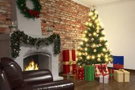 Image result for living room christmas decorations
