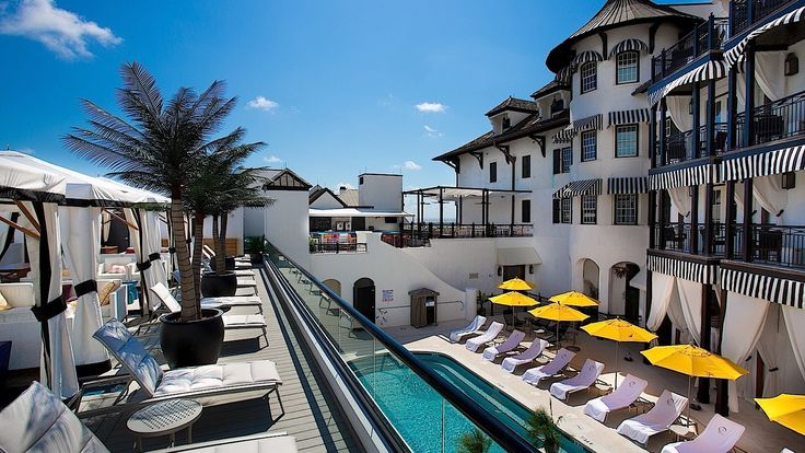 The Pearl Hotel, Rosemary Beach, FL ~ By far one of my favorite places ever. Home away from home. ~A Bit of Sophistication~