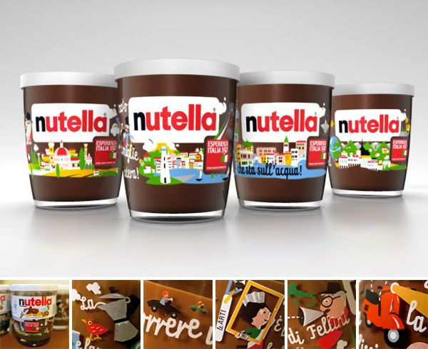 Im going to look for these at my local grocer tomorrow and buy 1 of each label. Chocolaty Nutella and a collectors cup. I WANT! #Nutella #Chocolate