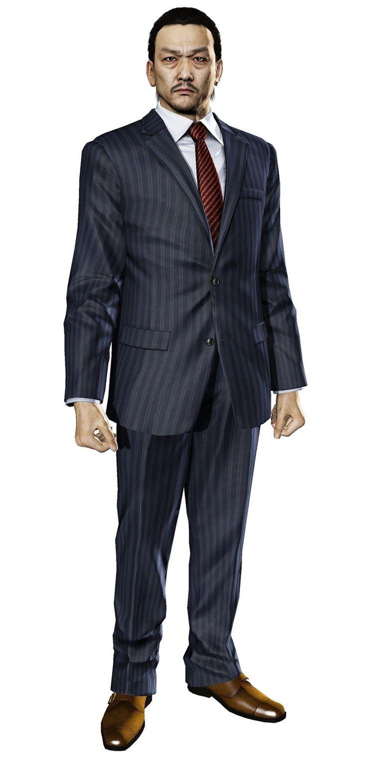 shadowrun; male; human; asian; suit; dark-haired