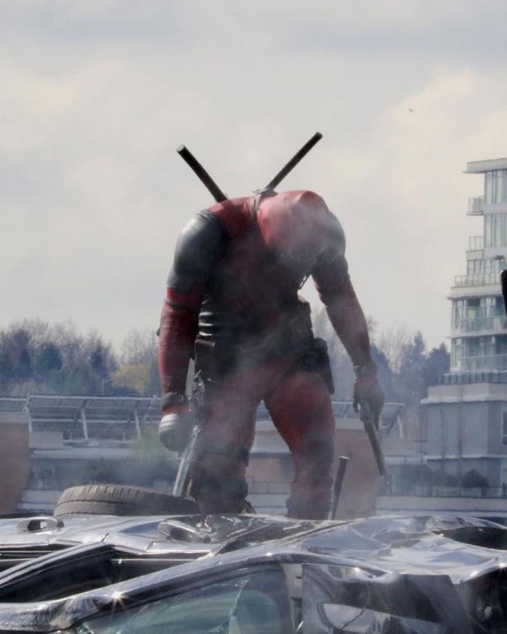 Deadpool - Novas fotos do filme mostram o uniforme completo do personagem! - Legião dos Heróis